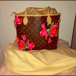 LV Limited  Edition Stephen Sprouse Roses mm